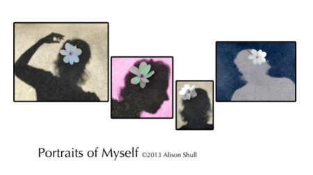 Portraits of Myself-Shadow Art Photography by Alison Shull